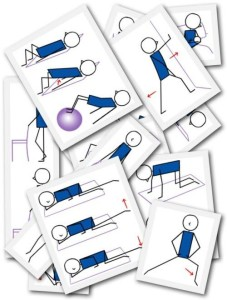 yoga stick figures