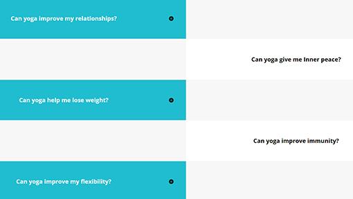 FAQ layouts