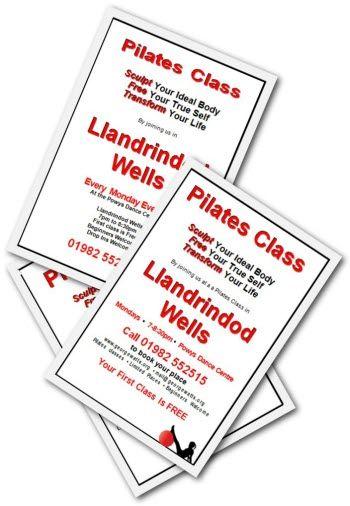 A5 Pilates Flyer Templates