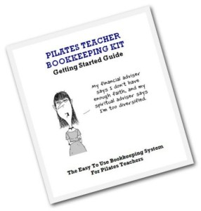 Pilates Bookkeeing System