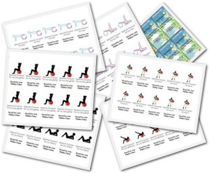Pilates-Coupon-Templates