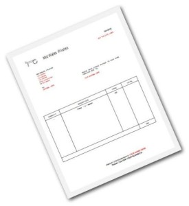 Pilates-Invoice-Template