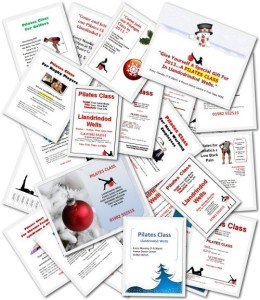 Pilates Instructor Flyer Collection